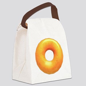 glazed donut Canvas Lunch Bag