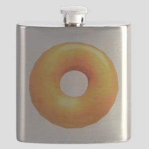glazed donut Flask