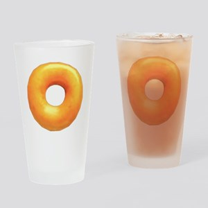 glazed donut Drinking Glass