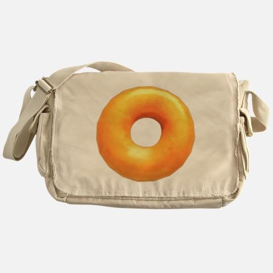 glazed donut Messenger Bag