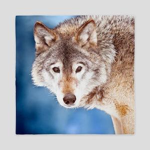 Beautiful Wolf Queen Duvet