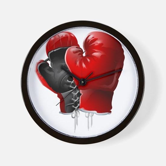 boxing gloves Wall Clock