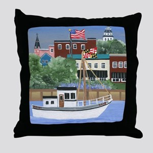 Annapolis View Throw Pillow