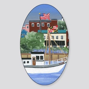 Annapolis View Sticker (Oval)