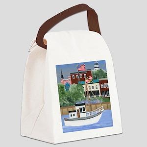 Annapolis View Canvas Lunch Bag