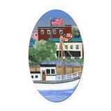Annapolis Oval Car Magnets