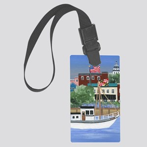 Annapolis View Large Luggage Tag