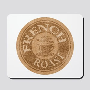French Roast Coffee Logo Mousepad