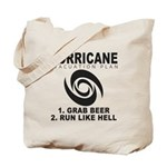 Hurricane Evacuation Plan Tote Bag