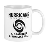 Hurricane Evacuation Plan Mugs