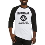 Hurricane Evacuation Plan Baseball Jersey