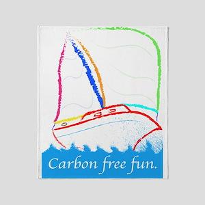 Carbon Free Fun 30 Throw Blanket