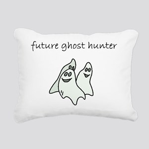 future ghost hunter Rectangular Canvas Pillow