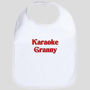 Karaoke Granny Bib