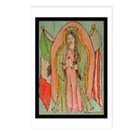 Virgen de Guadalupe Mex/Amer Postcards (Package of