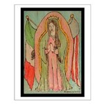 Virgen de Guadalupe Mex/Amer Small Poster