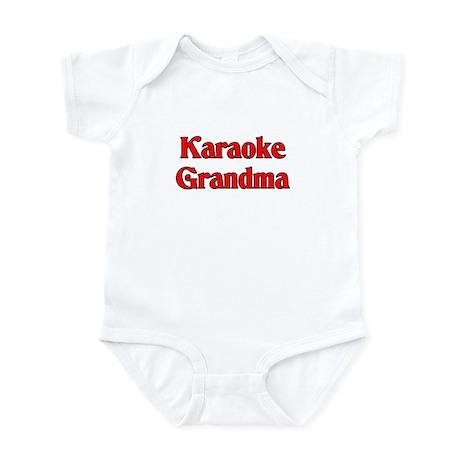 Karaoke Grandma Infant Bodysuit