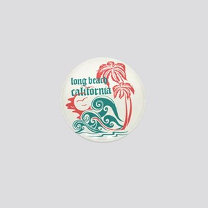 Wavefront Long Beach Mini Button