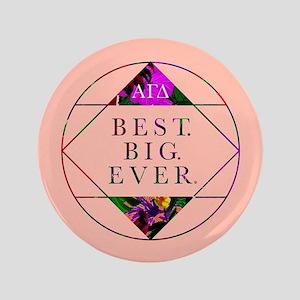 """Alpha Gamma Delta Best Big 3.5"""" Button"""