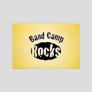 Band Camp Rocks 4' x 6' Rug