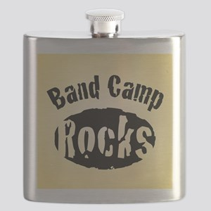 Band Camp Rocks Flask