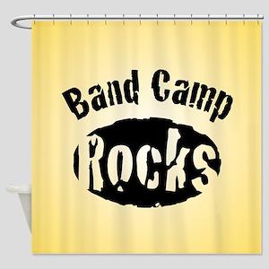 Band Camp Rocks Shower Curtain
