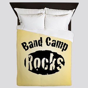 Band Camp Rocks Queen Duvet