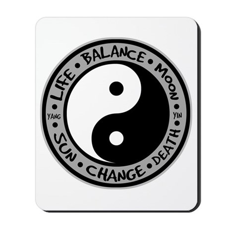 Yin & Yang Meanings Mousepad