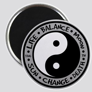 Yin & Yang Meanings Magnet