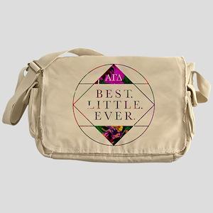 Alpha Gamma Delta Best Little Messenger Bag