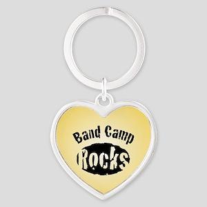 Band Camp Rocks Heart Keychain