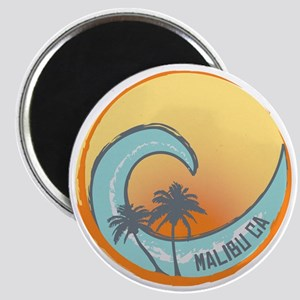 Malibu Sunset Crest Magnet