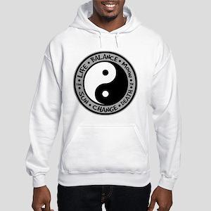 Yin & Yang Meanings Hooded Sweatshirt