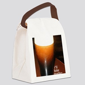 ill have another stout Canvas Lunch Bag