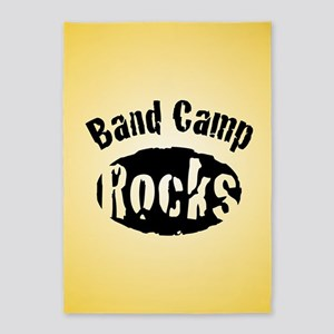 Band Camp Rocks 5'x7'Area Rug