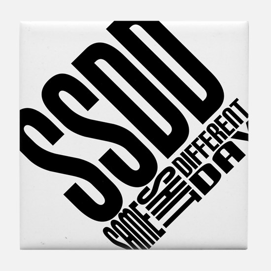 SSDD Tile Coaster