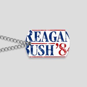 Distressed Reagan - Bush '84 Dog Tags