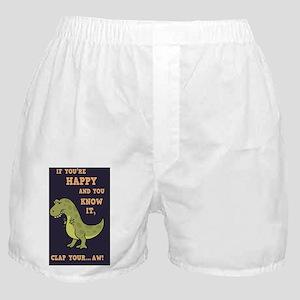 t-rex-clap-2-STKR Boxer Shorts
