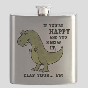 t-rex-clap-2-LTT Flask