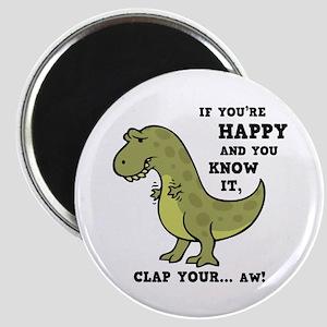t-rex-clap-2-LTT Magnet
