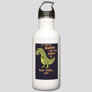t-rex-clap-BUT Stainless Water Bottle 1.0L