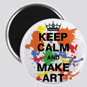 Keep Calm and Make Art Magnet