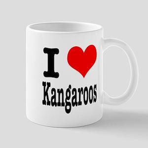 I Heart (Love) Kangaroos Mug