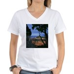 Natures Window - Grand Canyon Women's V-Neck T-Shi