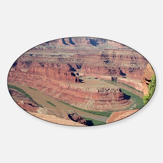 Dead Horse Point State Park, Utah,  Sticker (Oval)