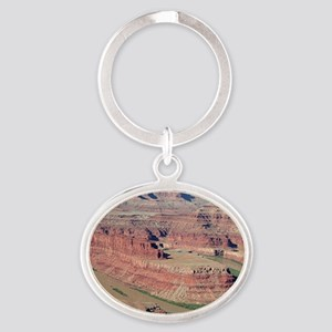Dead Horse Point State Park, Utah, U Oval Keychain