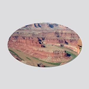 Dead Horse Point State Park, 20x12 Oval Wall Decal