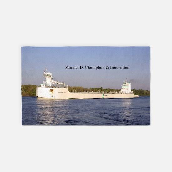 Samuel D. Champlain & Innovation Area Rug