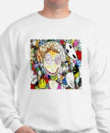 MILLIONS OF FACES - SEAN ART Sweatshirt