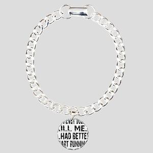 Better Start Running II  Charm Bracelet, One Charm